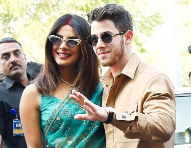 Priyanka Chopra, Nick Jonas Head Back Home in Chic Airport Looks