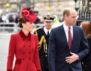 Kate Middleton Repeats Her Outfit at Commonwealth Day Service, Does Not Look Chirpy as Before