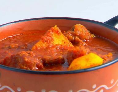 Recipe of the day: Aloo Gosht
