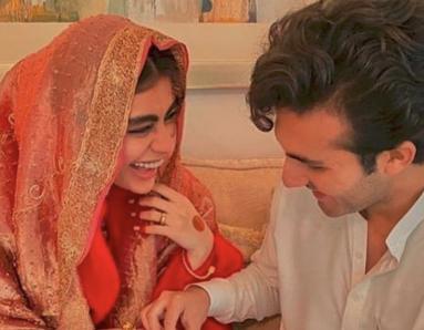 Sadaf Kanwal and Shahroz Sabzwari Tie the Knot