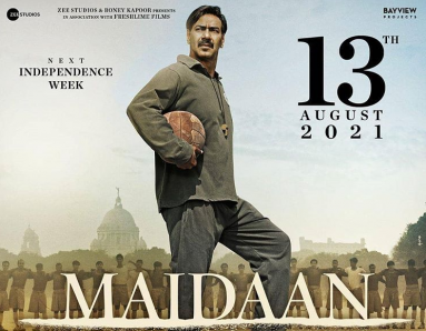 Ajay Devgn's Maidaan film is given a new release date