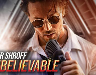 Tiger Shroff announces his singing debut with new track titled 'Unbelievable'