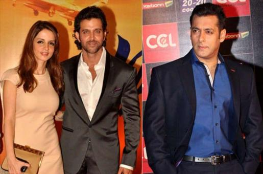 Salman Khan Plays Peacemaker for Hrithik Roshan and Sussanne