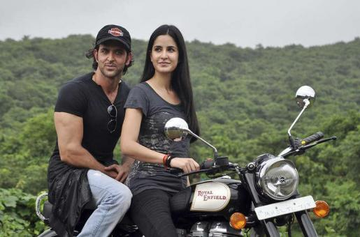 Katrina Kaif and Hrithik Roshan in Abu Dhabi for a Month!