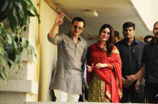 Kareena Kapoor, Saif Ali Khan's Wedding Anniversary: See Throwback Photos From the Ceremony