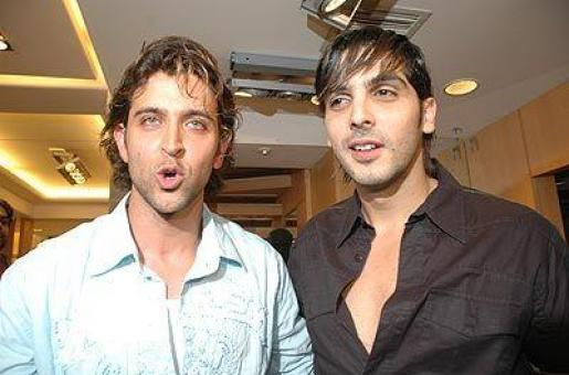 Hrithik Roshan and Zayed Khan Bond Over Movies and Kids