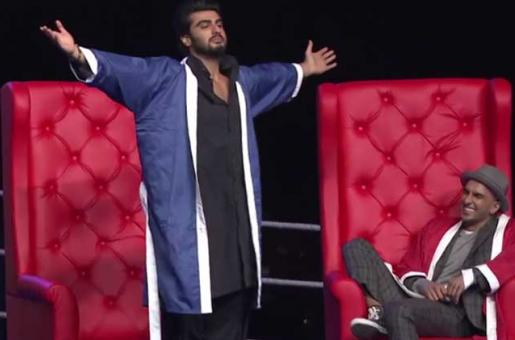 WATCH OUT TODAY: The Raunchiest Show Ever Featuring Ranveer Singh and Arjun Kapoor