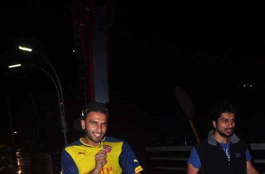 Check Out: Ranveer Singh's Soccer Show Off