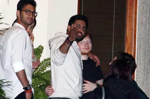 When Abhishek Bachchan Partied With Ed Sheeran
