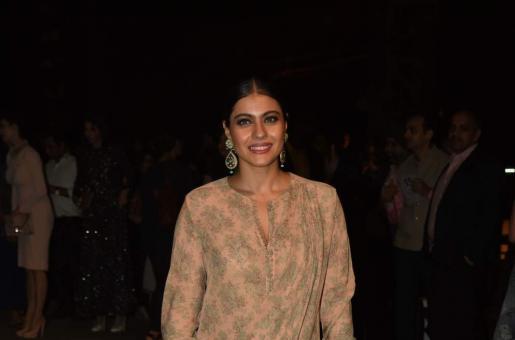 Kajol And Rani Mukerji Exchange Pleasantries at Lakme Fashion Week