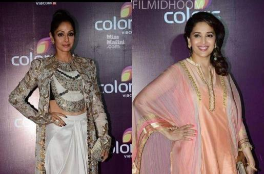 Did Sridevi and Madhuri Dixit Avoid Each Other at the Colors Bash?