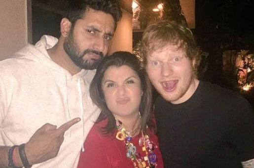 Who Is The Mystery Woman Ed Sheeran Was Partying With in Bollywood?