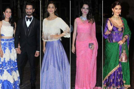 Shahid Kapoor-Mira Rajput Reception: A Closer Look!