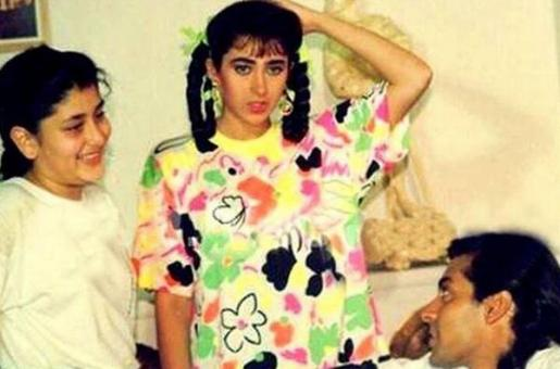 Salman Khan Carries This ADORABLE Pic of a Young Kareena Kapoor on His Phone?
