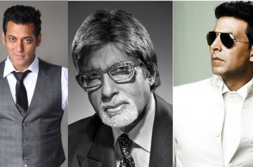 Big B, Salman Khan and Akshay Kumar in the Forbes Top 10 List Of Highest Paid Actors!
