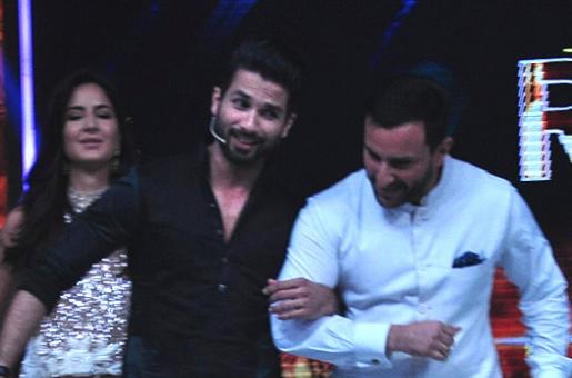 Saif Ali Khan Finally Talks About His Wife Kareena Kapoor's Ex Shahid Kapoor!