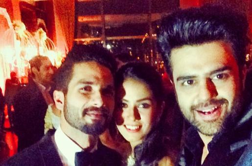 Did Manish Paul Upset Shahid Kapoor With the Wedding Selfie?