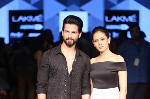 Shahid Kapoor and Mira Rajput Walk Hand-in-Hand For Masaba Gupta