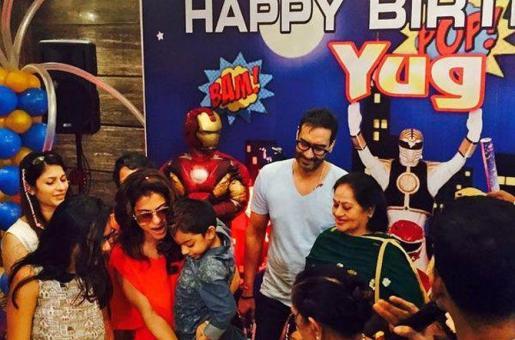 Ajay Devgn and Kajol Celebrate Son Yug's Fifth Birthday