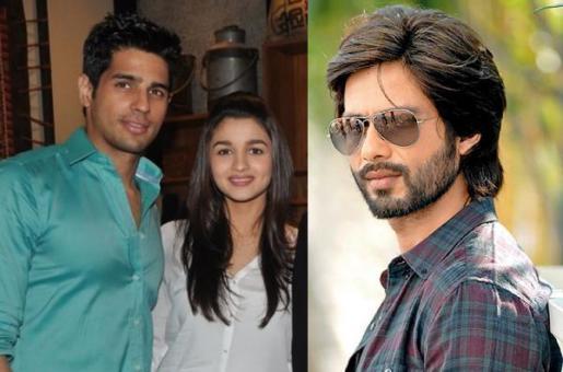 OMG! Did Shahid Kapoor Just Spill The Beans on the Alia Bhatt-Sidharth Malhotra Affair?
