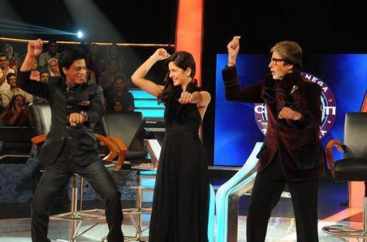 Is Big B Challenging King Khan For the Worst Dancer Title?