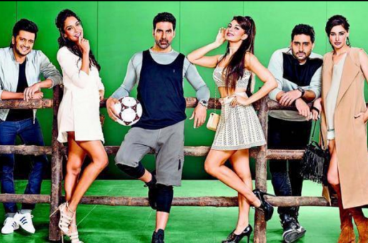 Akshay Kumar, Nargis Fakhri and Lisa Haydon Sizzle in the First Look of Housefull 3!