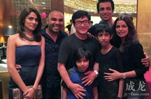 Sonu Sood and Jackie Chan's Sino-Indian Escapades in Dubai