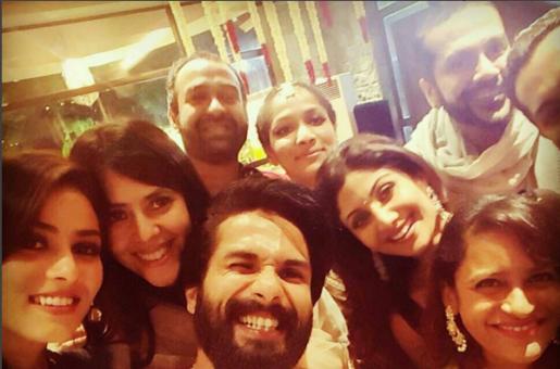 Spotted! Shahid Kapoor, Mira Rajput, Shilpa Shetty and Ekta Kapoor in a Fabulous Diwali Selfie!
