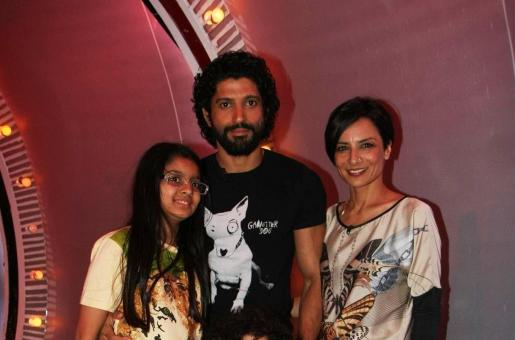 Farhan Akhtar opens up on how he told his daughters about his divorce