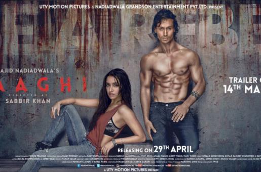 Revealed: Tiger Shroff, Shraddha Kapoor Unveil The Baaghi Poster