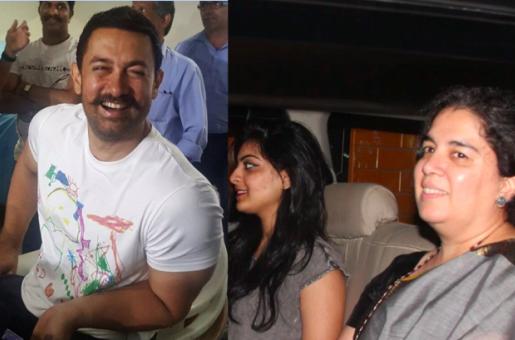 Aamir Khan Still Celebrates Birthday With Ex Wife Reena Dutt