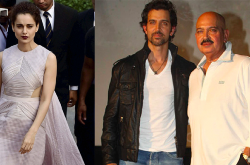 Hrithik Roshan Maintains Low Profile as Kangana Ranaut Wins the National Award For the Third Time