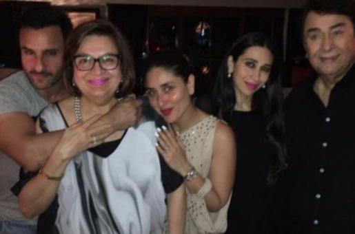 Kapoors Celebrate Babita's Birthday