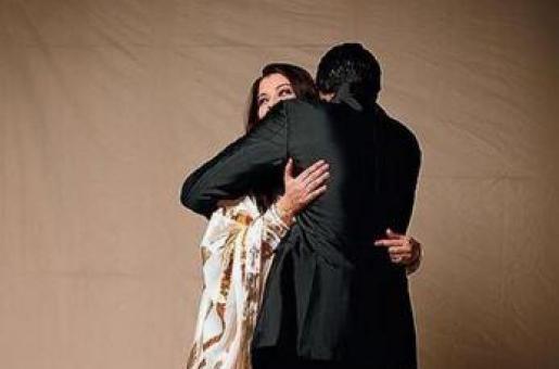 Abhishek Bachchan Shares an Adorable Pic with Aishwarya Rai Bachchan