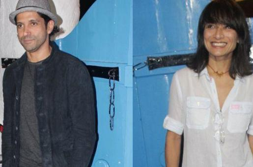 Farhan Akhtar and Adhuna SPOTTED Together First Time After Separation