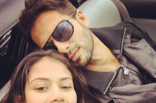 Soon-to-be Parents Shahid and Mira Kapoor Go on a Holiday