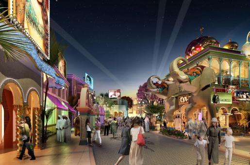 Krrish and Don Wait For You At Bollywood Parks Dubai