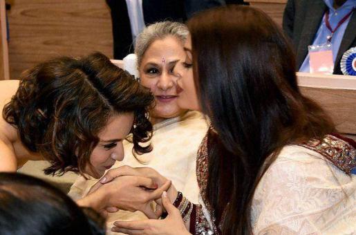 Bond With The Best: Kangana Ranaut and Aishwarya Rai Bachchan At The National Awards