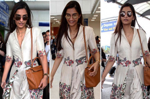 Sonam Kapoor Has Arrived at Cannes in Style
