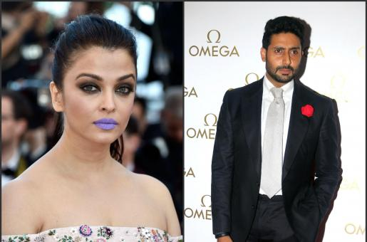 Abhishek Bachchan Says Aishwarya Rai Bachchan Looked FANTASTIC with Purple Lips