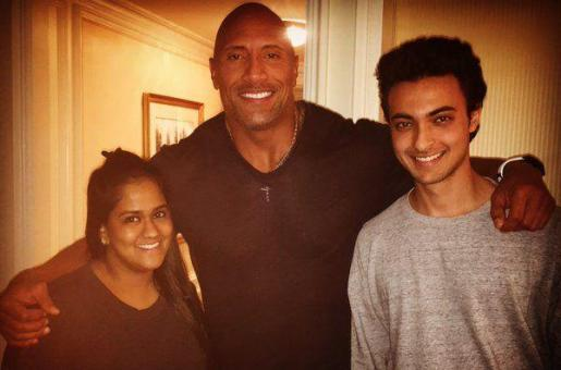 Arpita Khan Sharma Spotted with The Rock!