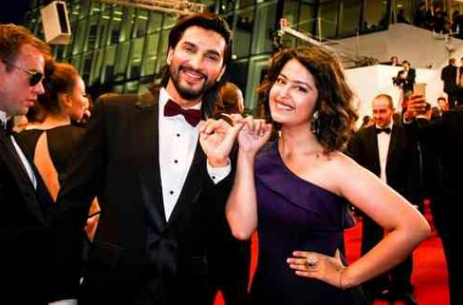 Avika Gor and Manish Raisinghani Spotted at Cannes