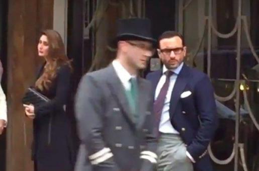 Kareena Kapoor Khan and Saif Ali Khan Snapped in London