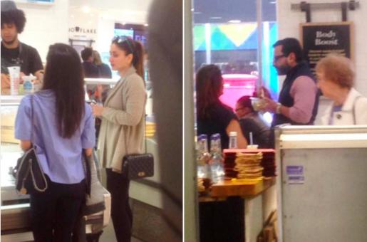 Kareena Kapoor Khan and Saif Ali Khan Go Shopping in London