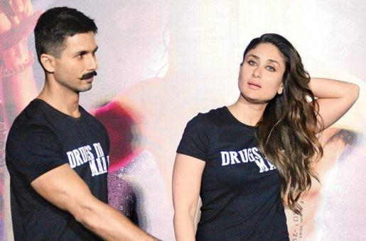 Here's Why Shahid Kapoor Stayed Away From Kareena Kapoor at the Udta Punjab Trailer Launch!