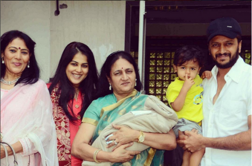 Riteish Deshmukh and Genelia D'Souza Bring Home Baby No.2