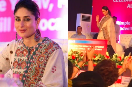 Kareena Kapoor Fuels Pregnancy Rumours With Her Body Language at UNICEF Event