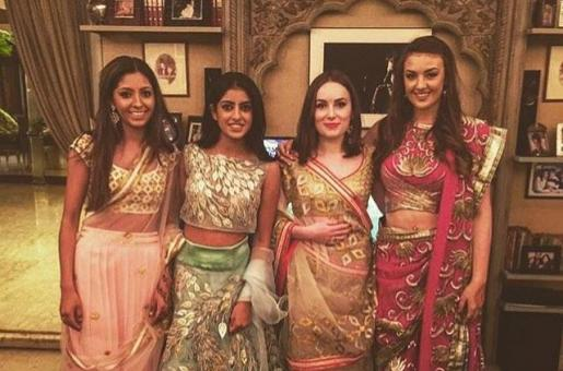 Gorgeous Navya Naveli and Her Girls Dazzle in Traditional Wear!