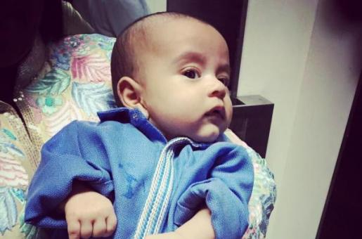 Guess Which Lucky Designer Dressed Baby Ahil For His First Iftar Bash!
