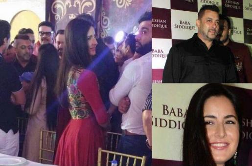 Baby Ahil Brings Salman Khan and Katrina Kaif Together at Baba Siddiqui's Iftar Bash!
